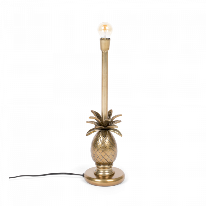 bold monkey juicy pineapple table lamp gold