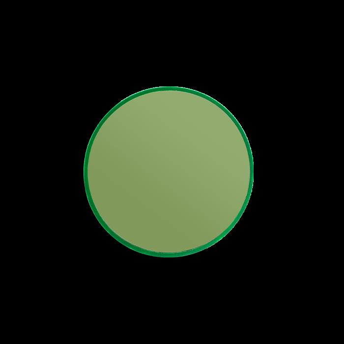 bold monkey You're So Ugly kleine ronde spiegel S groen glas small diameter ⌀ ø 30 cm