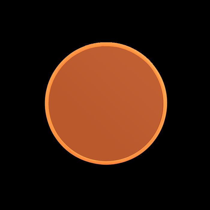 Bold Monkey You're So Ugly medium ronde spiegel M oranje glas diameter ⌀ ø 45 cm