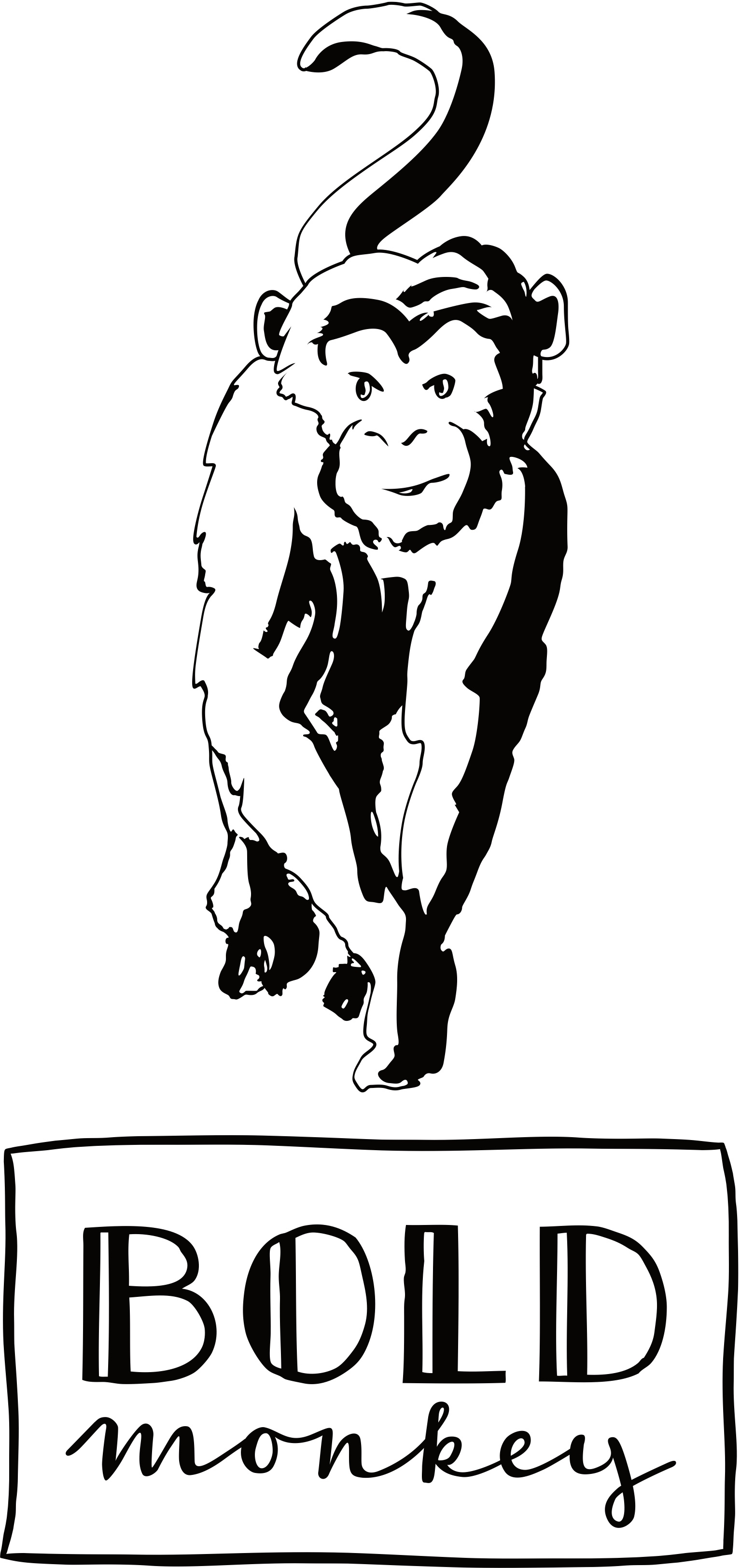 Bold Monkey Hooked on you bijzettafel zwart blad zwart onderstel gouden details vooraanzicht