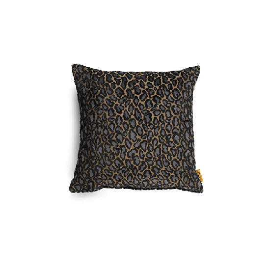 Bold Monkey It's a Wild World Baby Panther cushion