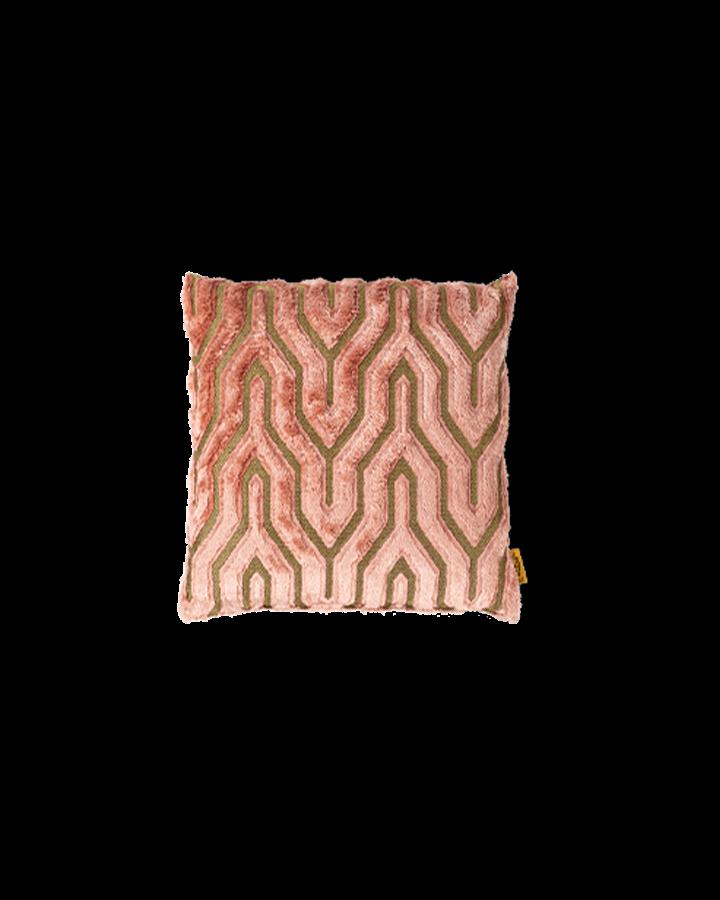 I Feel So Soft sierkussen roze art deco